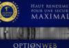Integration OptionWeb dans le comparatif de Forexagone
