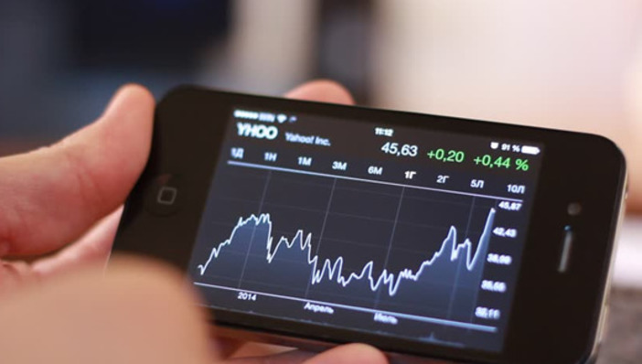 Bourse, application sur iPhone, bourse sur iPhone